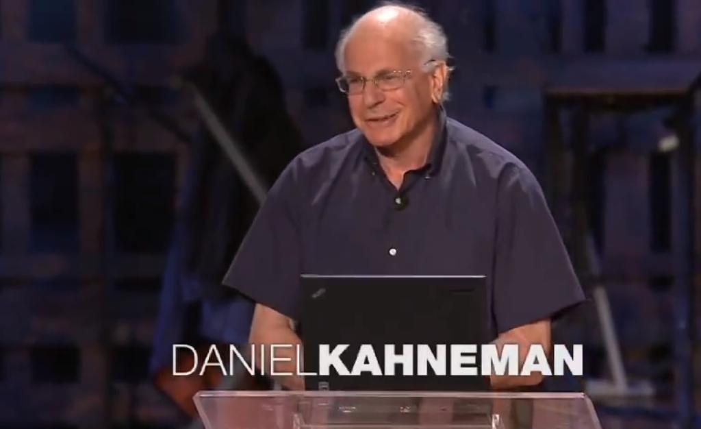 Daniel Kahnemann TED Talk